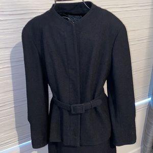 Chanel Black Vintage 2pc suit size FR 42